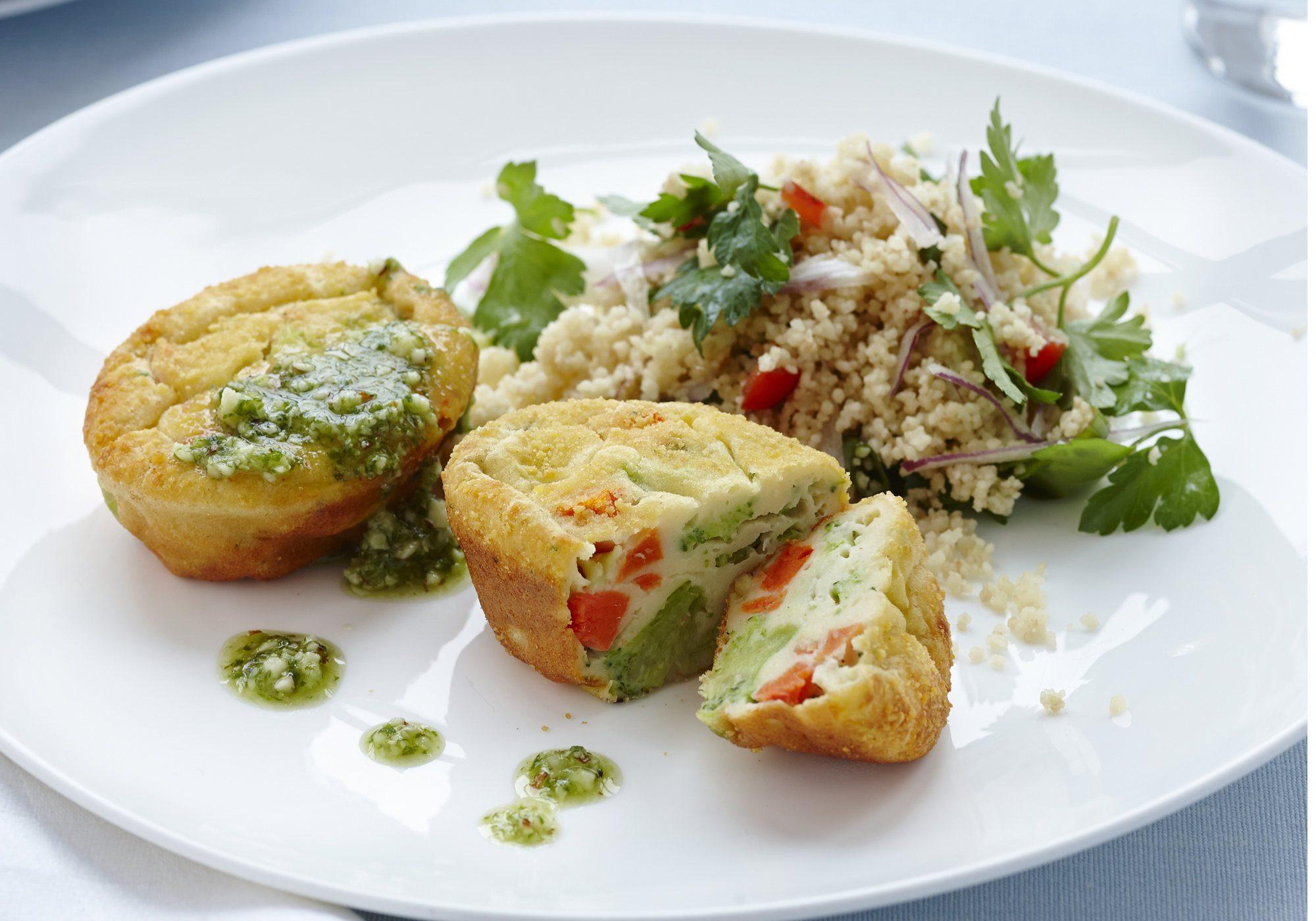Daloon Mini-Soufflés Broccoli Karotte