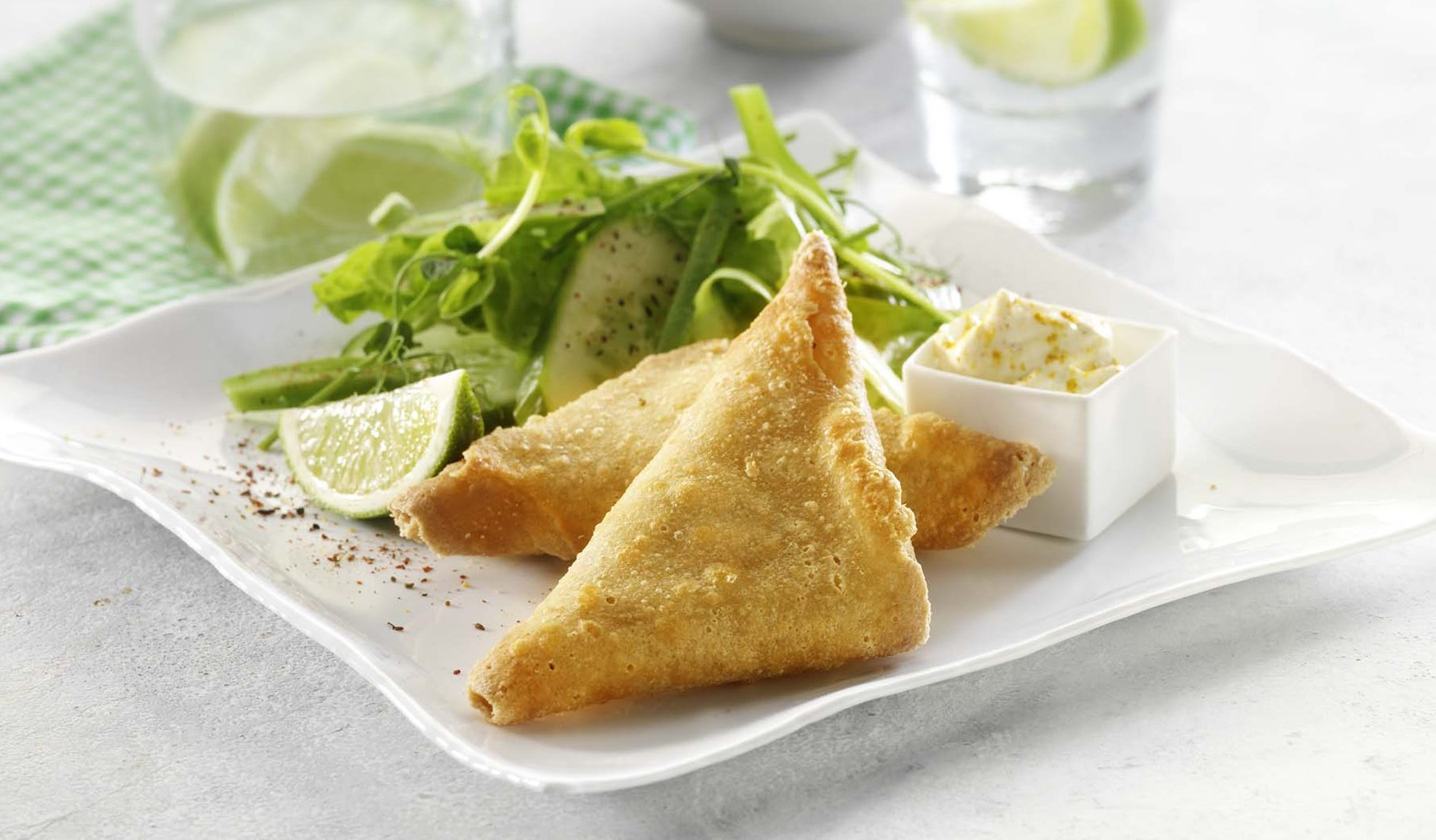 Daloon Samosas Spicy Indian Mini