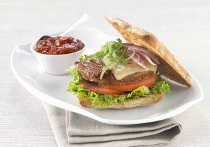 Quorn Burger Italian Style