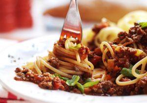 Quorn Spaghetti Bolognese