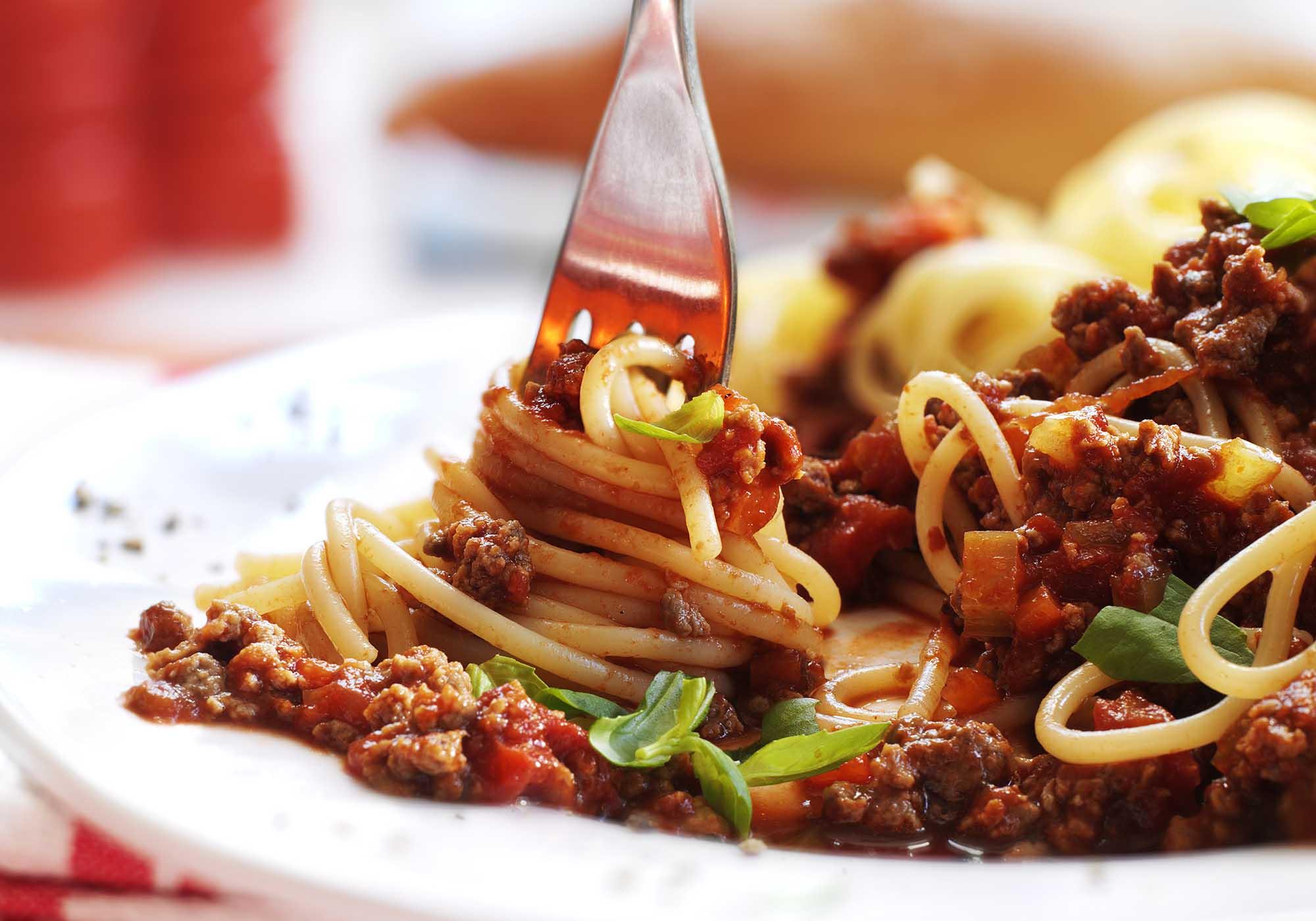 Rezeptidee Quorn Spaghetti Bolognese