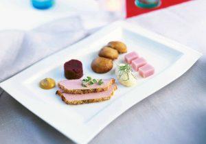 Fingerfood-Teller Fleisch