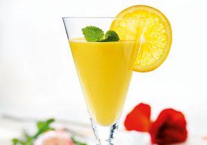 Fruchtiger Mangodrink
