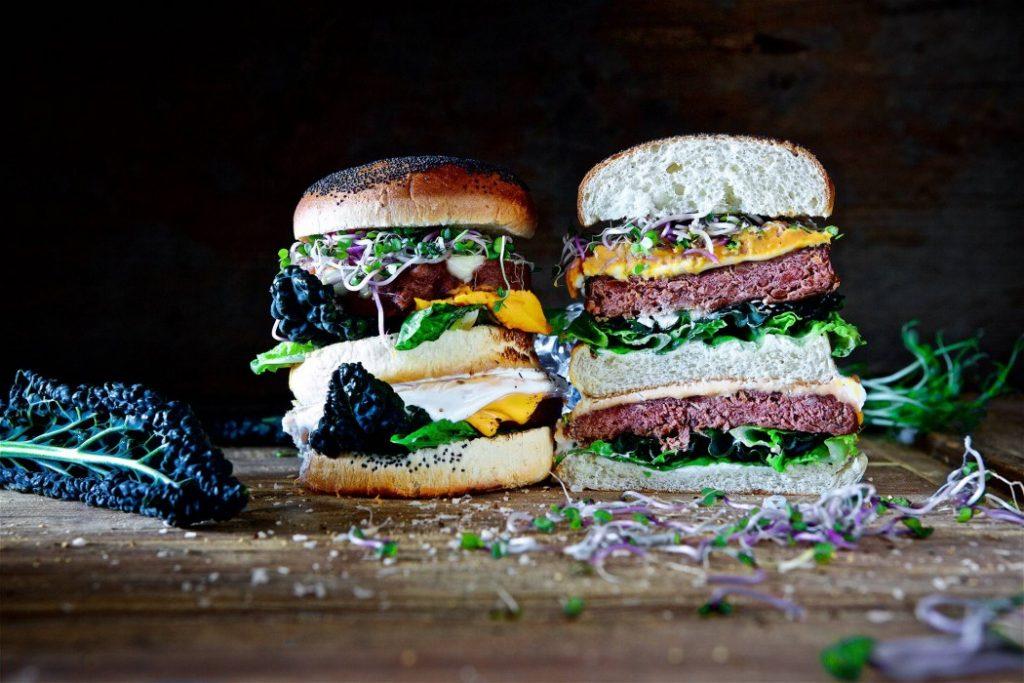 Quorn veganer Ultimate Burger