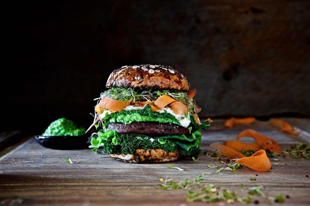 Rezeptidee für Quorn veganer Ultimate Burger