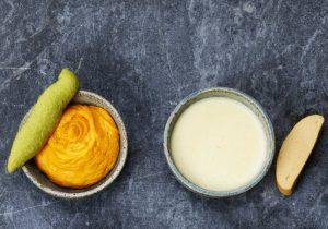 Passierte Kost Rezeptidee Herzhafte Dips für Fingerfood