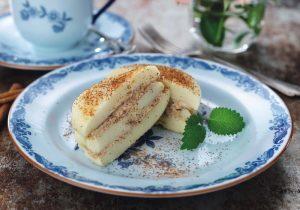 Passierte Kost Rezeptidee FINDUS Timbalino Mini-Pfannkuchen mit Zimtbutter