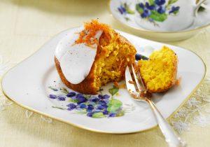Rezeptidee Karottenmuffin mit Ingwer mit FINDUS Karottenpüree