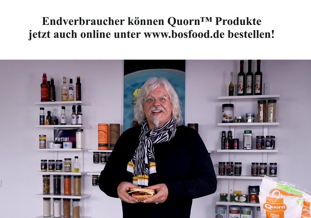 Ralf Bos testet QUORN™ Produkte