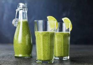 Rezeptidee Spinat-Kiwi-Smoothie mit FINDUS Spinatpüree