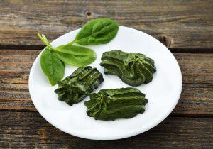 Rezeptidee Passierte Kost Hausgemachtes gespritztes Spinat-Timbal